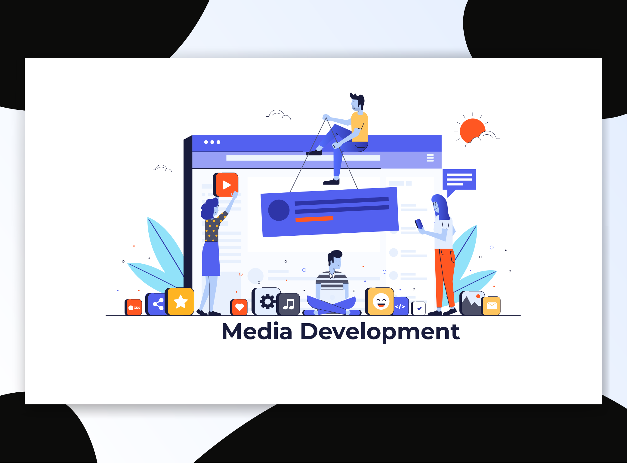 Media Development, Social Media Marketing, Media Productions, Video Editing, Video Production for Healthcare Marketing, Physical Therapy Marketing, Educational Marketing, and Technology Marketing