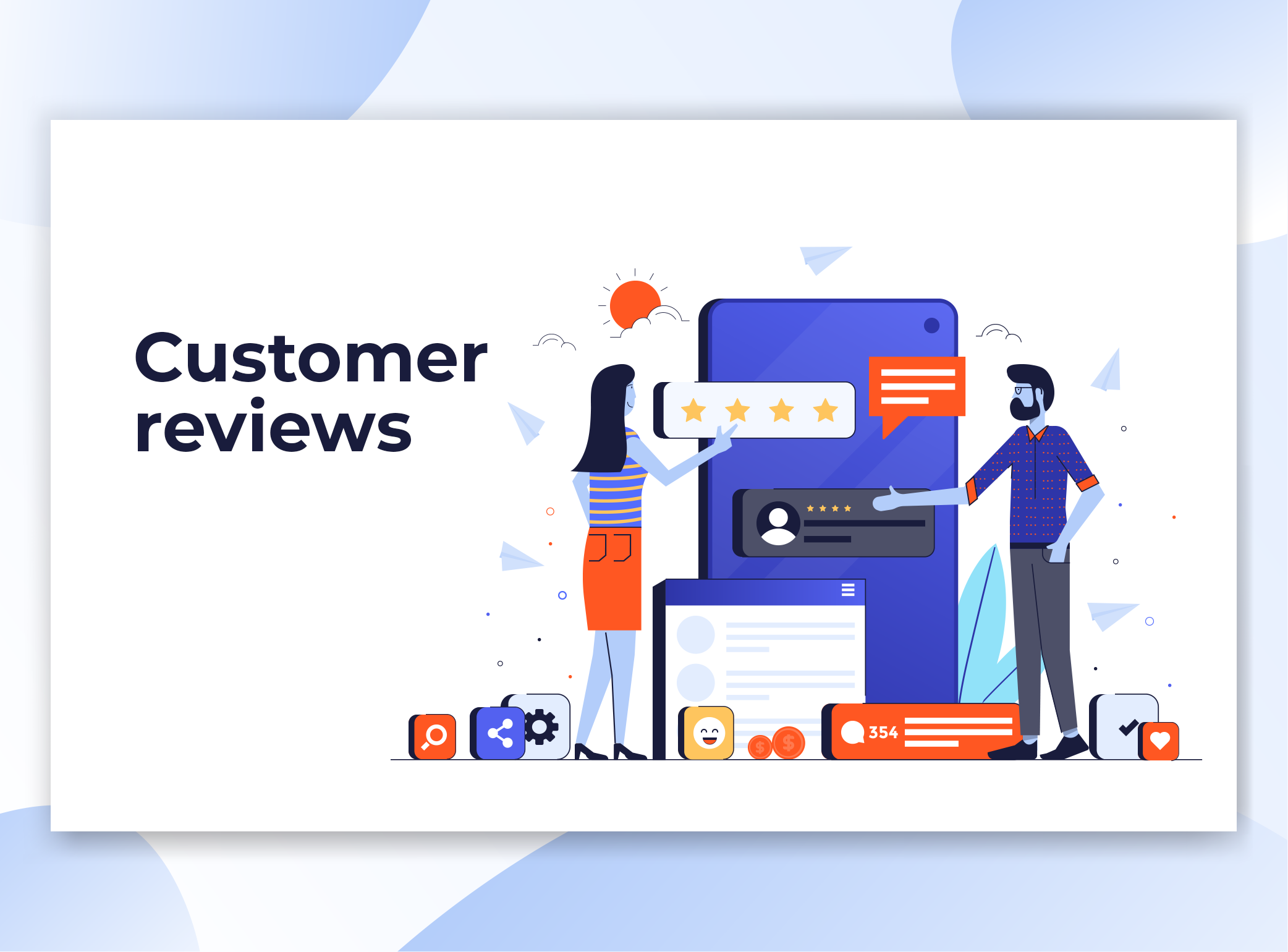 Customer Review Marketing, Customer Relationships Management, Online Review Marketing, Reputation Management for Healthcare Marketing, Physical Therapy Marketing, Educational Marketing, and Technology Marketing
